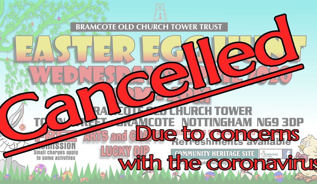 Easter Egg Hunt 08 April 2020 – CANCELLED
