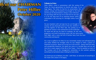 Tribute to Peter Hillier