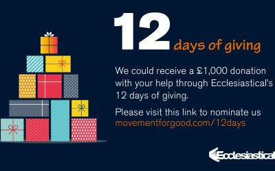 Nominate the Tower to helps us get £1000