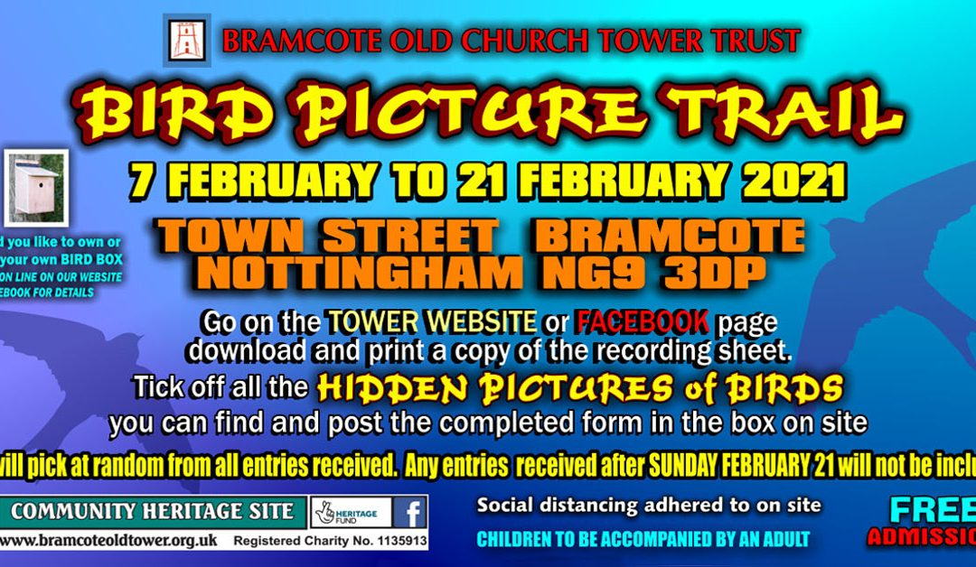 Bird Picture Trail – 7 to 21 February