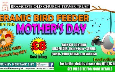 Mother's Day – Ceramic Bird Feeder