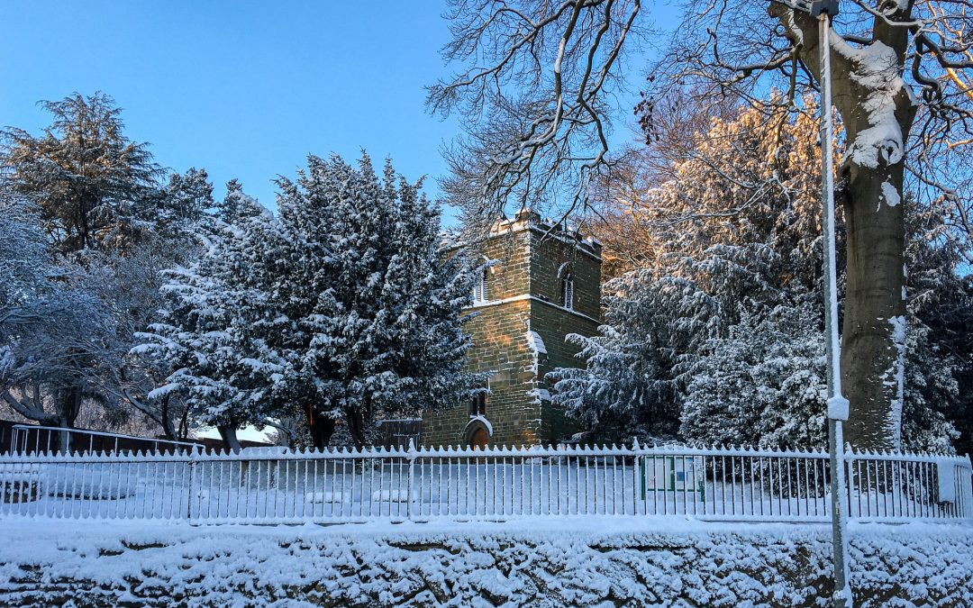 The Tower in the Snow – photos
