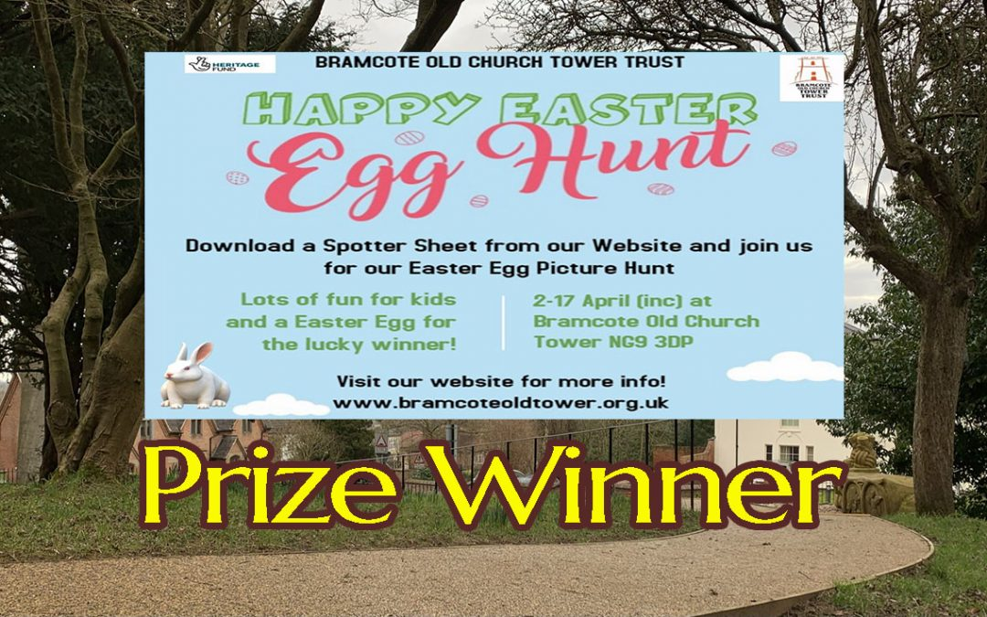 Easter Egg Hunt – Prize Winner