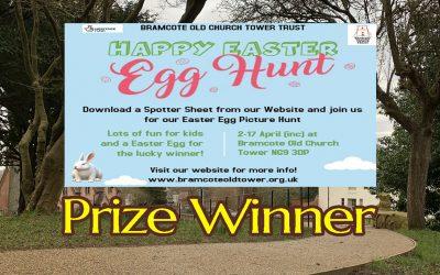 Easter Egg Hunt – Prize Winner