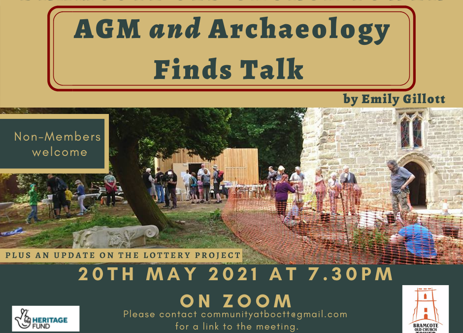 AGM and Archaeology Finds Talk
