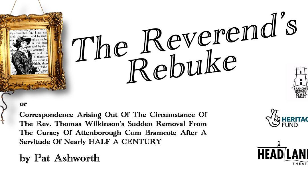 The Reverend's Rebuke